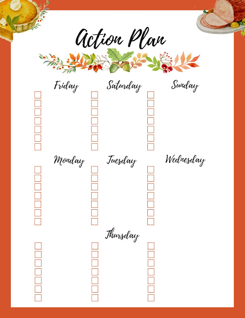 Free Thanksgiving Planner Printable - Ultimate Bundle Download http://www.malenahaas.com/2017/10/freebie-friday-ultimate-thanksgiving.html