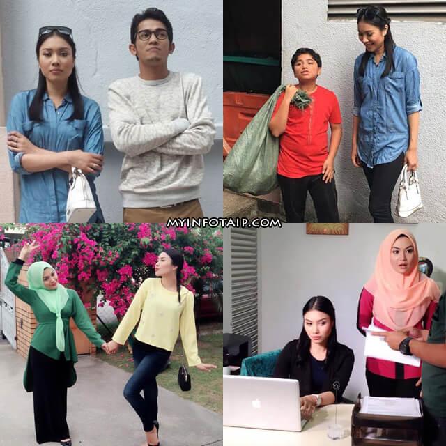 Pelakon Aisha & Projek Dapur Ramadan