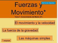 http://es.slideshare.net/florenenriquez/fuerzas-y-movimiento-a-12559205