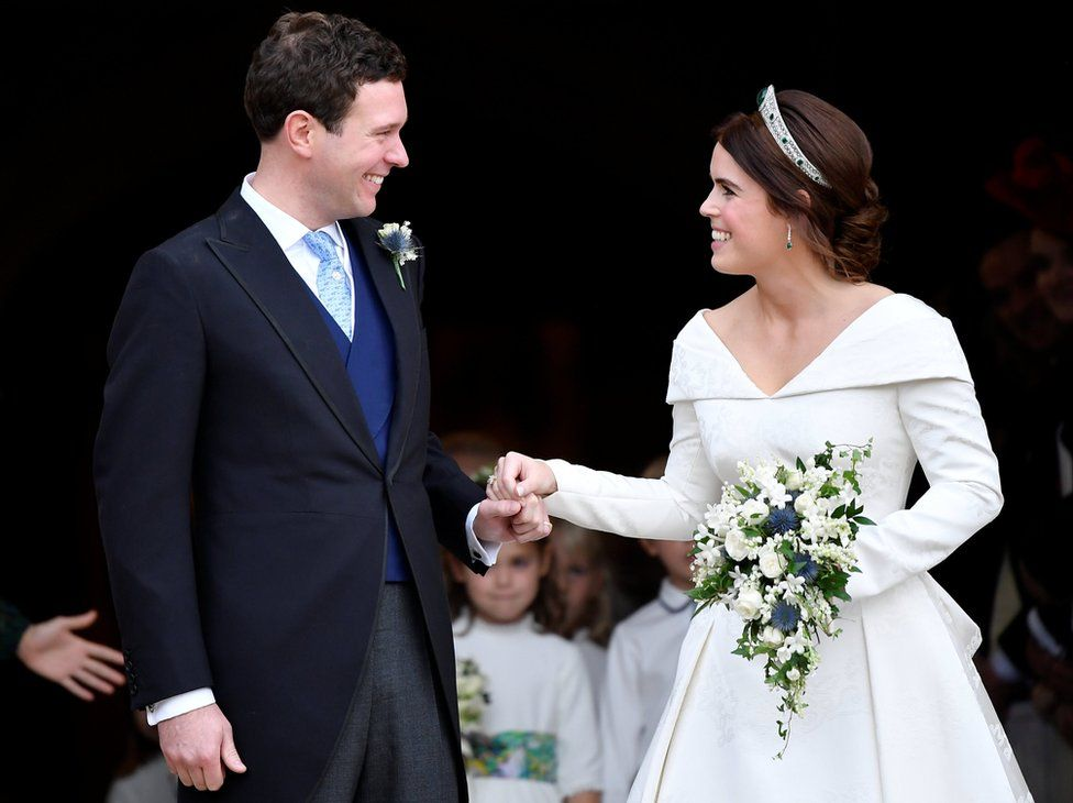 Princess Eugenie wedding in pictures