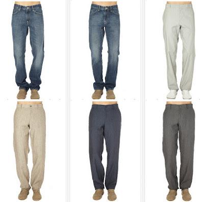 Pantalones para chico vaqueros o de lino