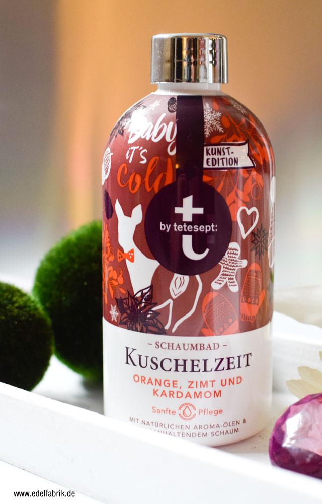 Review des t by tetesept Schaumbad, Kuschelzeit