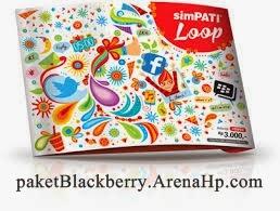 Daftar Paket Blackberry simPATI Loop
