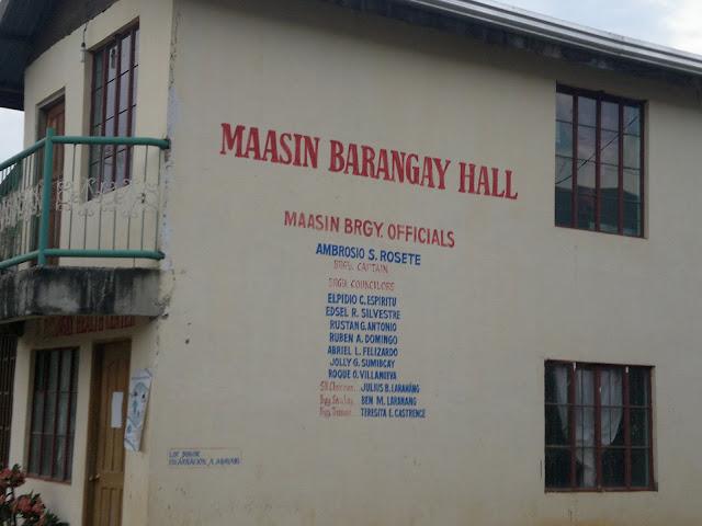 Maasin Barangay Hall