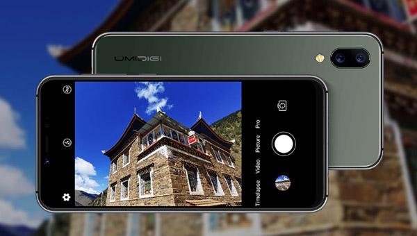 كاميرا في هاتف UMIDIGI A3s