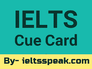 describe a healthy lifestyle you know cue card ielts