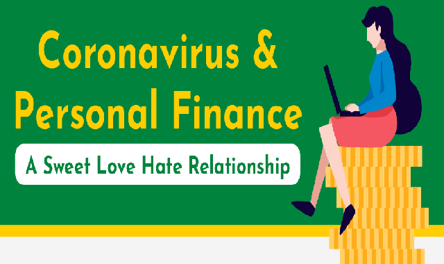 Coronavirus and Personal Finance - A Sweet Love Hate Relationship #infographic