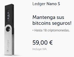 Comprar España Ledger Nano S Wallet Monedero