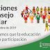 ELECCIONES CONSEJO ESCOLAR. INFORMACIÓN SECTOR FAMILIAS