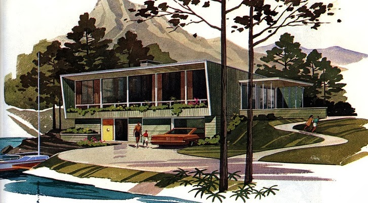 Mid Modern House Plans: Mid Century Modern House Plans For Pleasure