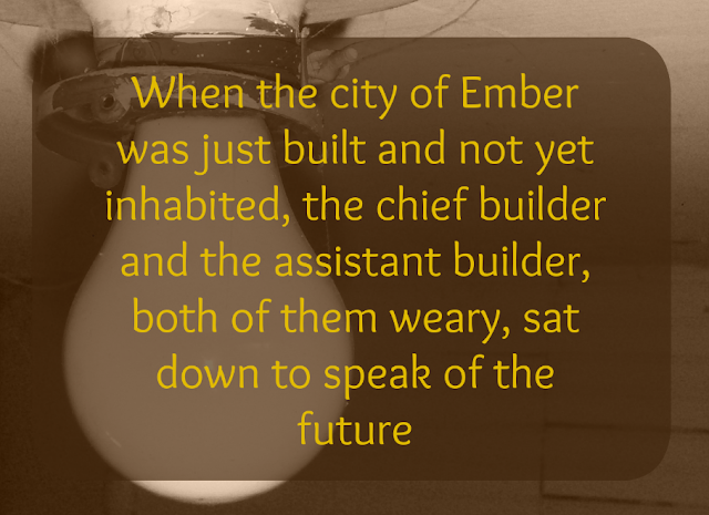 Books with Bean, Book reviews by Teens, The City of Ember