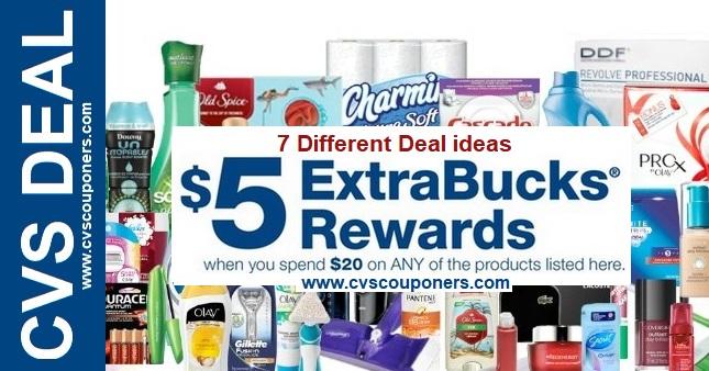 CVS Extrabuck Coupon Deal ideas 10-27-11-2