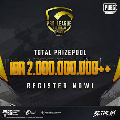 PUBG Mobile Mengadakan Turnamen Pro League 2020 dengan Hadiah Yang Sangat Fantastis