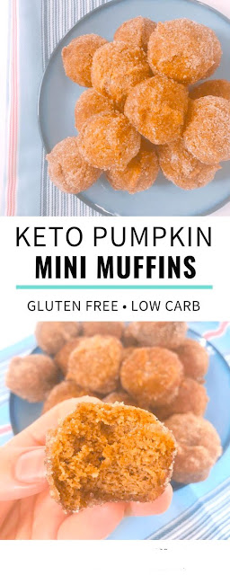 Easy Keto Pumpkin Mini Muffins Recipe