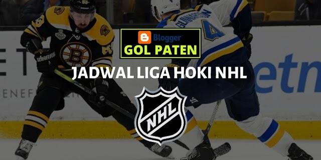 Jadwal Pertandingan Es Hoki NHL USA 13 Desember 2019