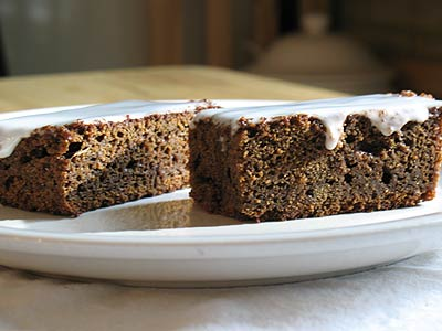 Nigella S Ginger Walnut Carrot Cake