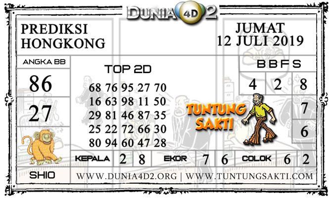"""Prediksi Togel """"HONGKONG"""" DUNIA4D2 12 JULI 2019"""