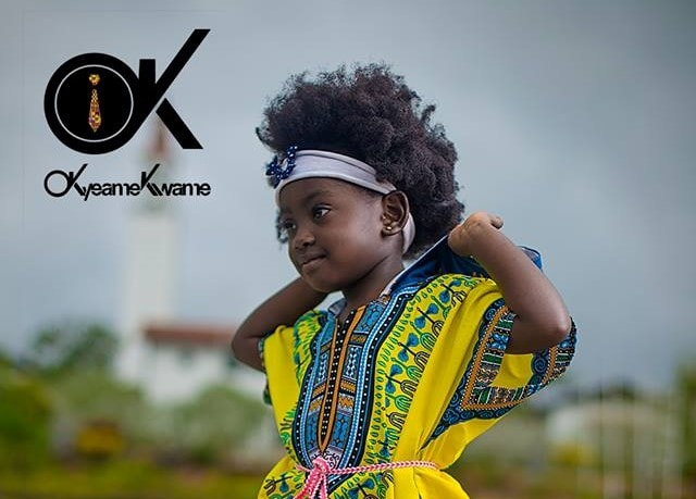 Okyeame Kwame's daughter Sante launches hairline for children