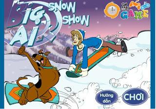 Chơi game Scooby Doo trổ tài thú vị
