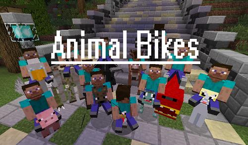 Cưỡi...xe thú rong ruổi trong vòng Minecraft để giúp đỡ Kinh nghiệm Game của mình thêm tiện lợi