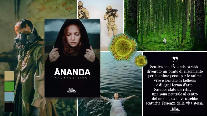 Ananda, un romanzo distopico di Argyros Singh