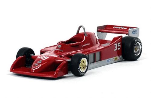 Alfa Romeo 177 1979 Bruno Giacomelli f1 the car collection