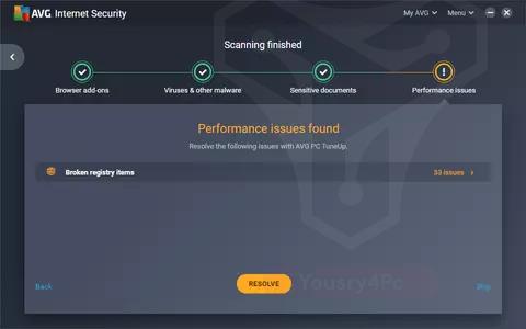 تحميل برنامج AVG Internet Security 2020 كامل مع التفعيل أحر إصدار