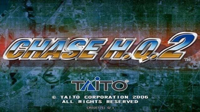 Chase H.Q. 2 Arcade Dump