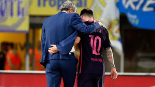 The day Quique Setien met Messi