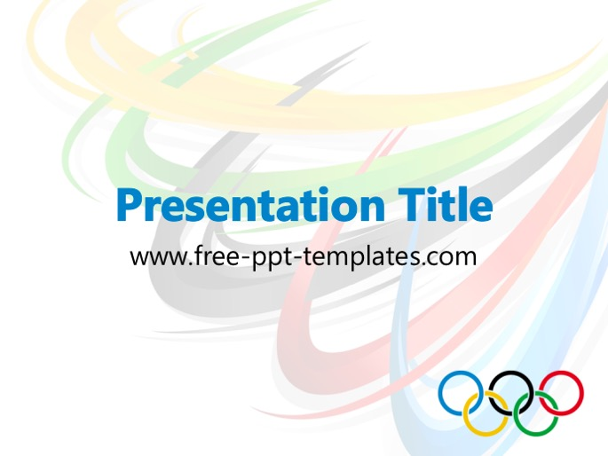 Olympic rings ppt template toneelgroepblik Image collections