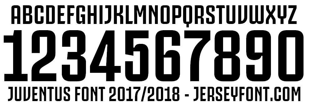 Juventus Fans Font (bold ttf version)