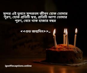 শুভ জন্মদিন স্ট্যাটাস  Happy Birthday Status Bengali