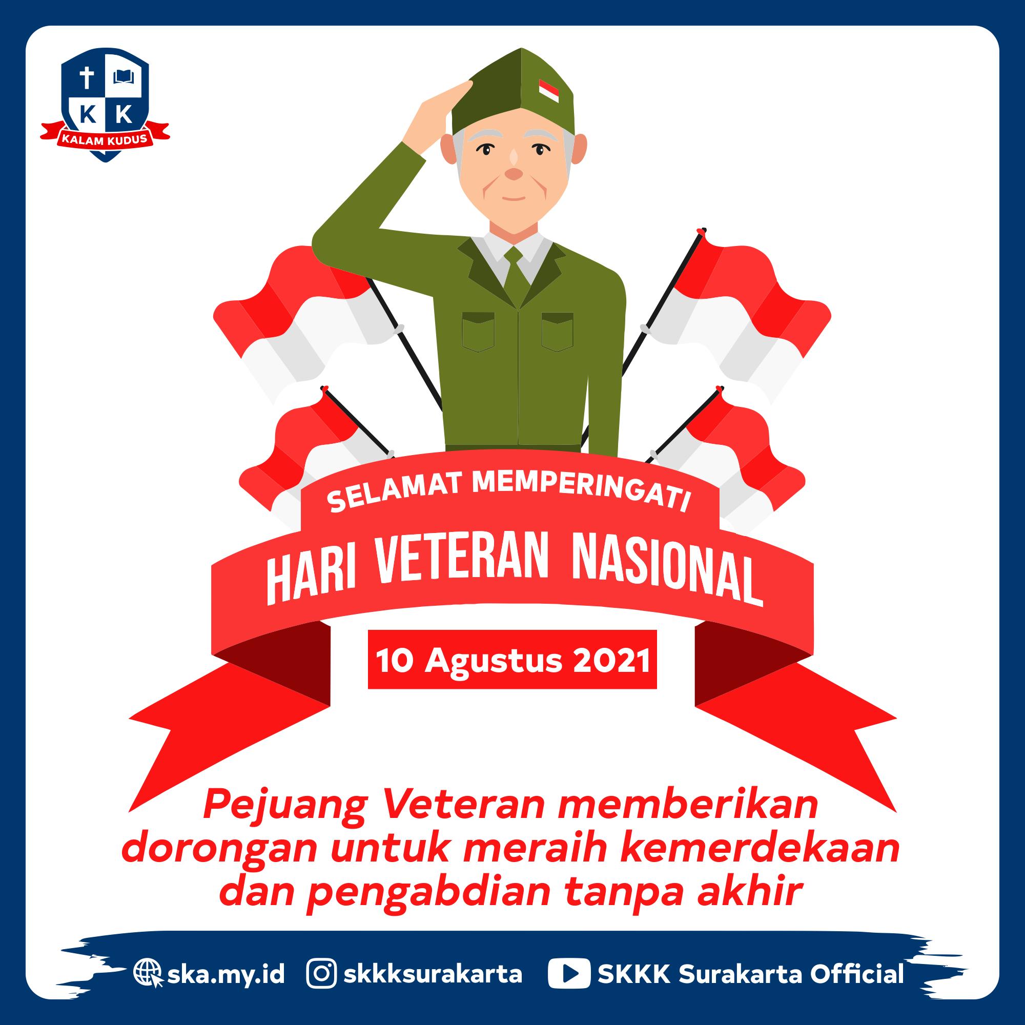 Hari Veteran Nasional 2021
