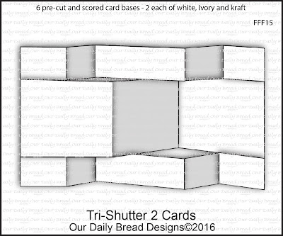 Our Daily Bread Designs Fun and Fancy Folds Kit:  Tri-Shutter 2