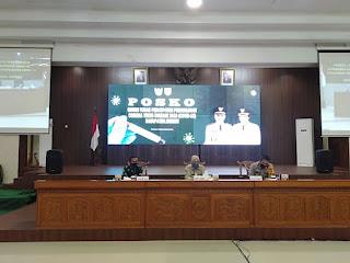 Jelang, New Normal Muspida Kabupaten Jember Ikuti Rapat Secara Daring