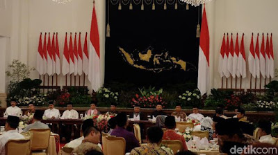 Presiden Jokowi Undang Menteri hingga Pimpinan Lembaga Buka Puasa di Istana - Info Presiden Jokowi Dan Pemerintah