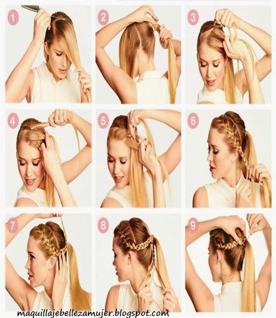 TRENZAS PARA CABELLO LARGO by maquillajebellezamujer.blogspot.com