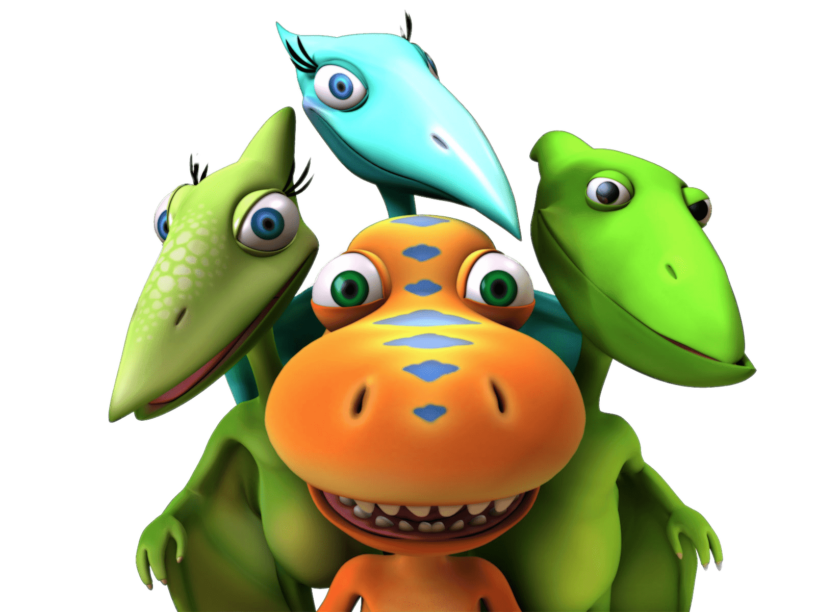 Cartoon Dinosaur Train Characters