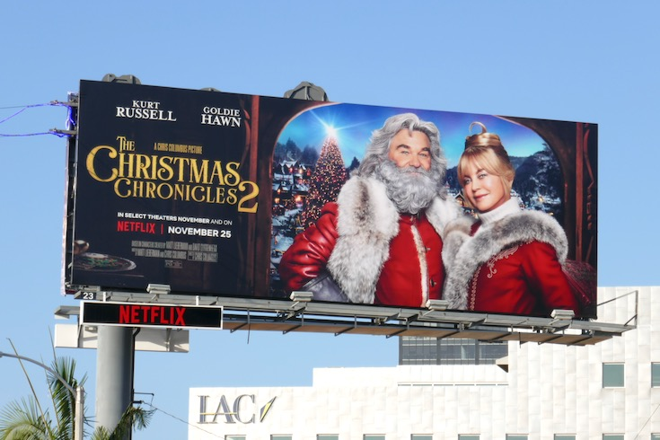Christmas Chronicles 2 Netflix billboard