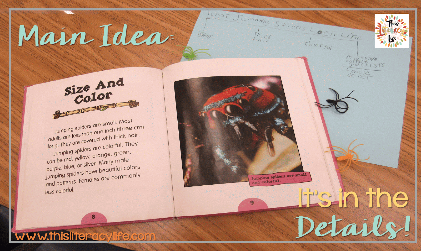Main idea and details can be tricky, but using and creating headings makes it more meaningful for our students.