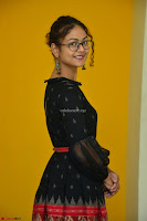 Aditi Myakal in Spicy Red Short Skirt and Transparent Black Top at at Big FM For Promotion of Movie Ami Tumi 053.JPG