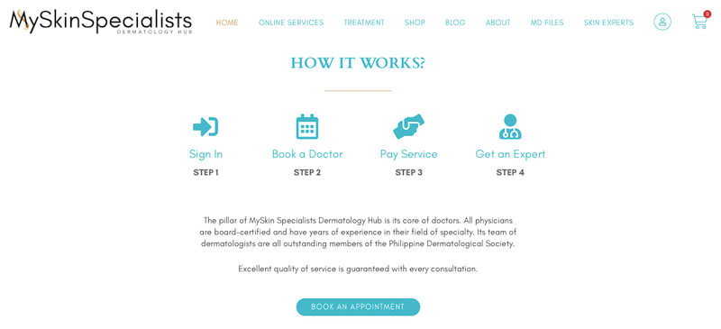 Here's how their online service works