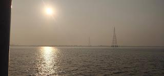Ganga between Sagar Island and Kakdwip