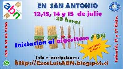 Segundo curso ABN, en Chile.
