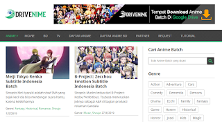 Website Anime Terlengkap
