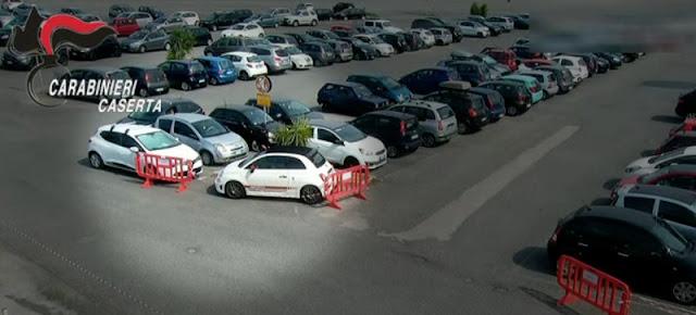 Banda di ladri tecnologica, rubava auto al Centro Campania di Marcianise, 19 i furti attribuiti. Sgominata dai Carabinieri [NOMI+VIDEO]