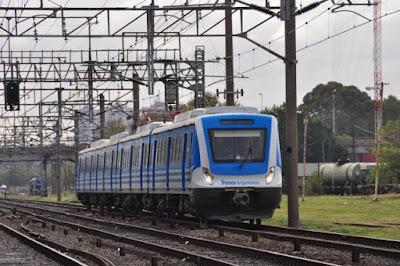 Trenes de la línea de Ferrocarril Roca