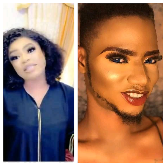 """I am ready to follow bobrisky steps""- Boy who tattooed bobrisky on him arm vows to bring James Brown down"