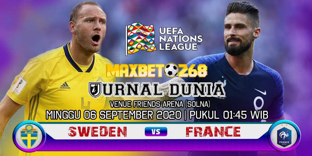 Prediksi Swedia Vs Prancis 06 September 2020 Pukul 01.45 WIB