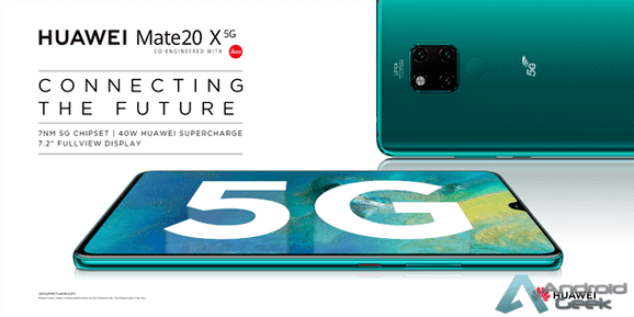 Huawei Mate20 X 5G: The first 5G smartphone